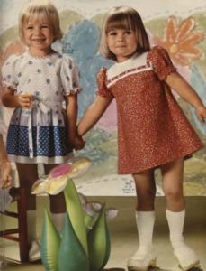 Платья советских девочек