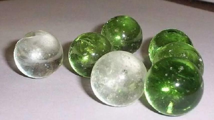 стеклянные шарики из детства