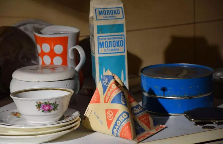 советское молоко