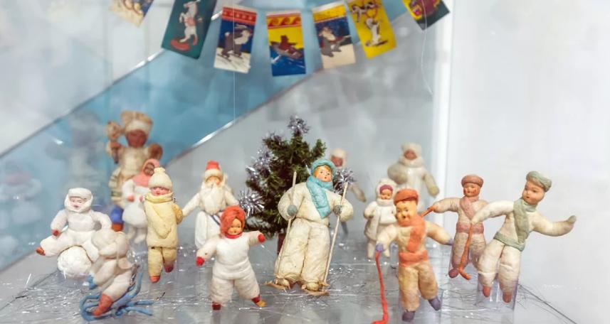 советские ватные игрушки