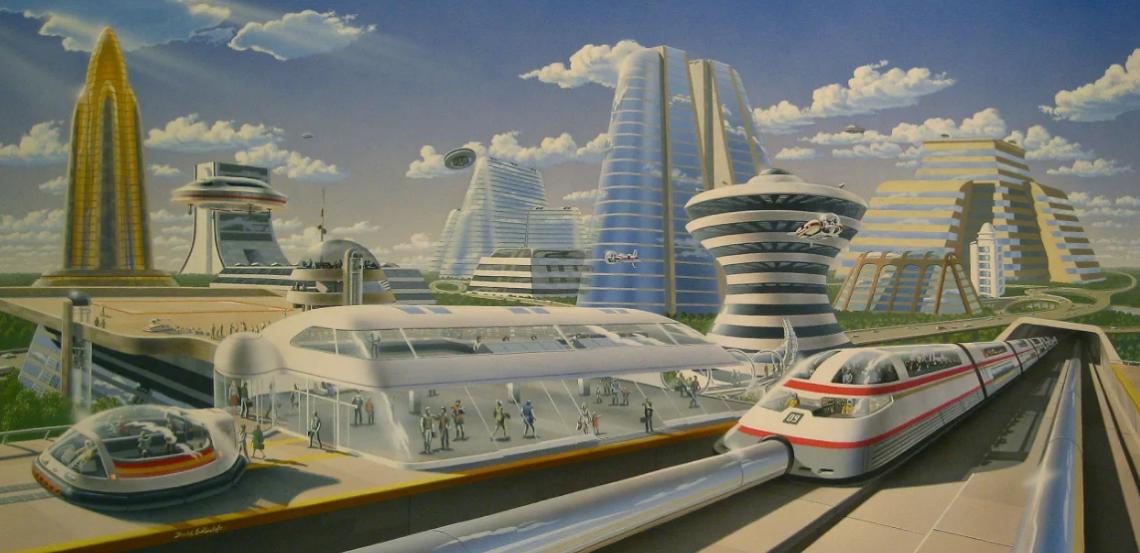 Как люди представляли будущее
