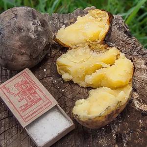 печеная в золе картошка