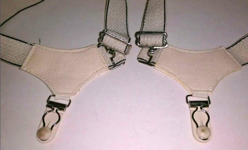 советские подтяжки для носков