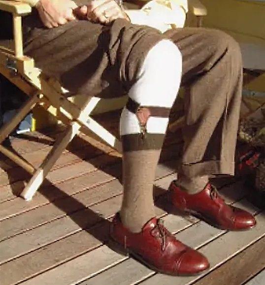 мужские подтяжки для носков