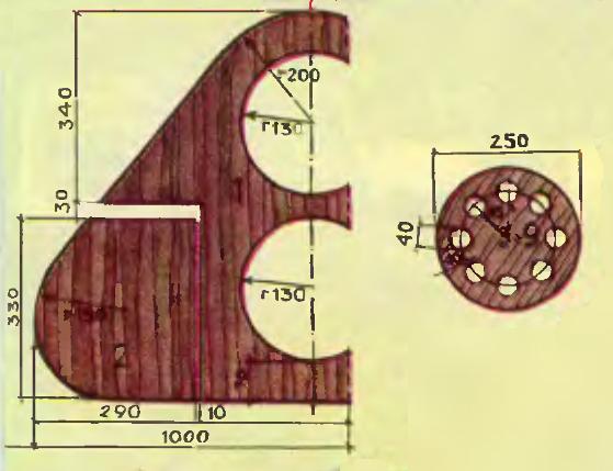 чертеж для изготовления подводного планера