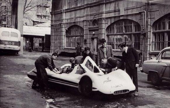 советский гоночный автомобиль ХАДИ-7