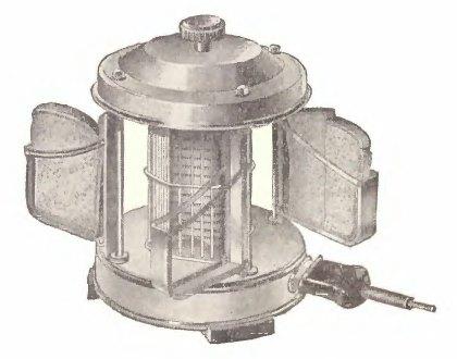 советский тостер с поворотным держателем