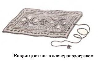 советский электроковрик для ног
