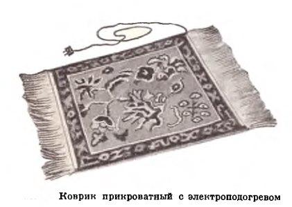 советский ковер с электроподогревом
