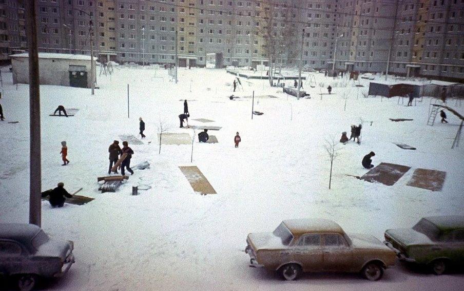 ковры на снегу ссср