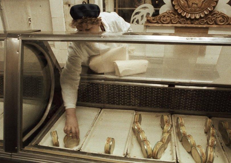 прилавок советского магазина