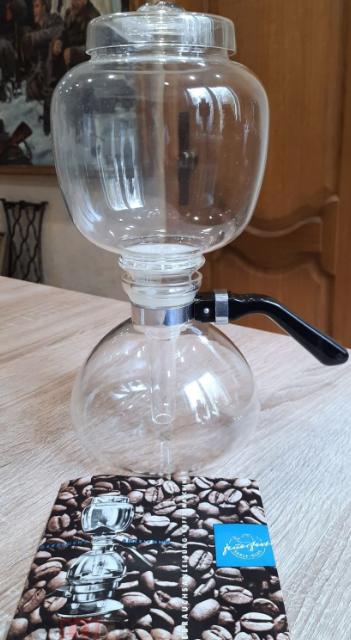 вакуумный гейзерный кофейник времен ссср