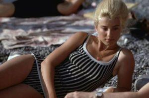 девушка на пляже ссср