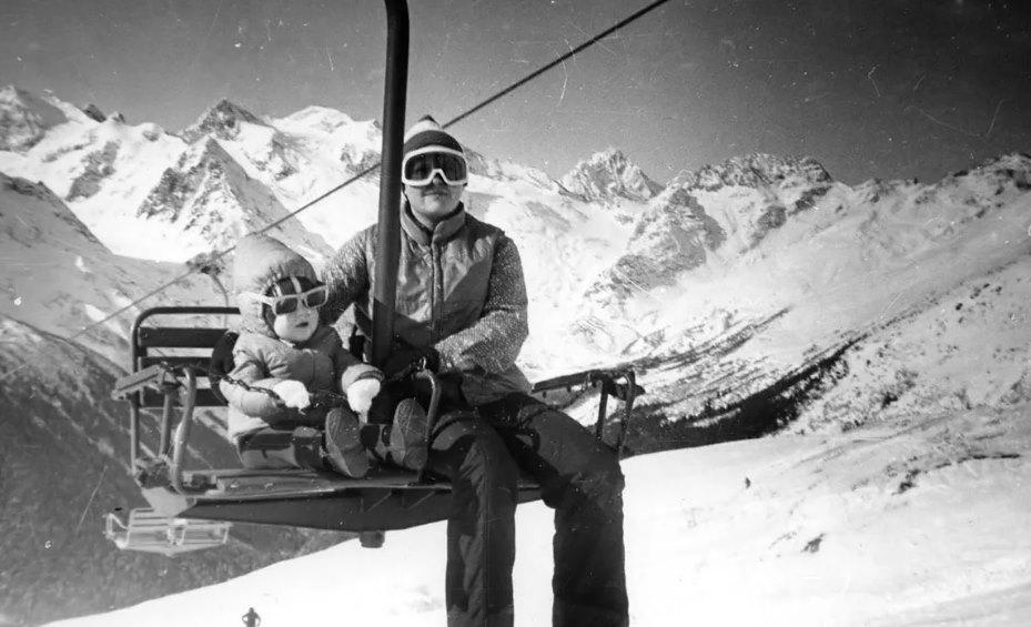 советский горнолыжный курорт
