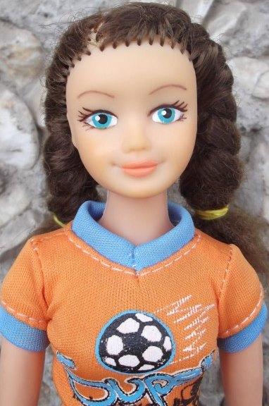 советская кукла Вероника к косами