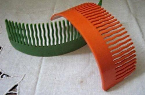 гребешки для волос времен ссср