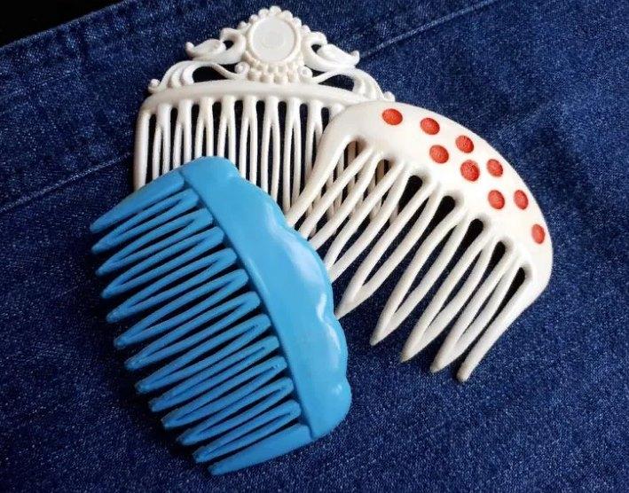 советские гребешки для волос