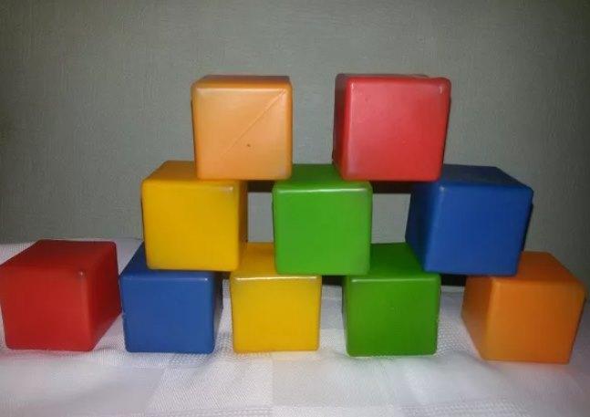 советские кубики