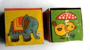 детские кубики ссср