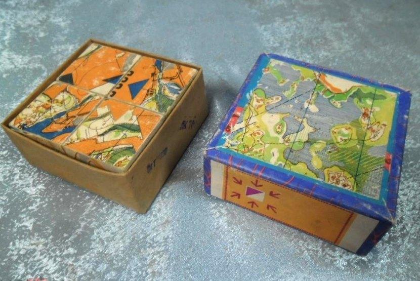 советские детские кубики