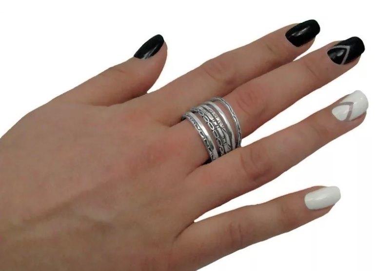 серебряные кольца неделька ссср