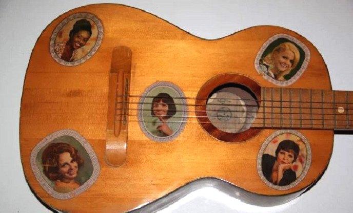 гитара с переводилками