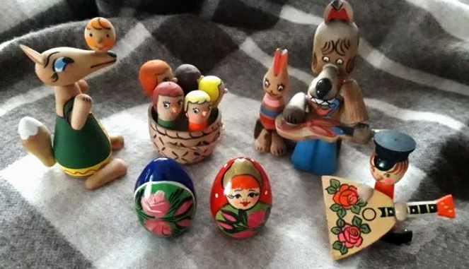 образные деревянные игрушки ссср