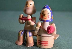 советская деревянная игрушка