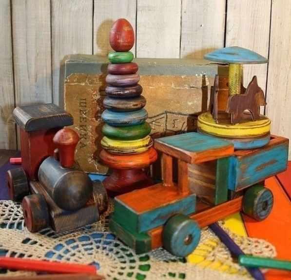 деревянные игрушки ссср