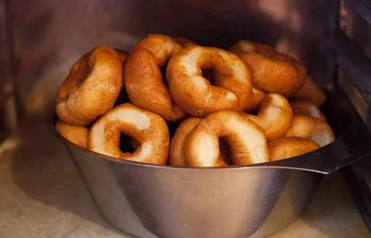 советские жареные пончики