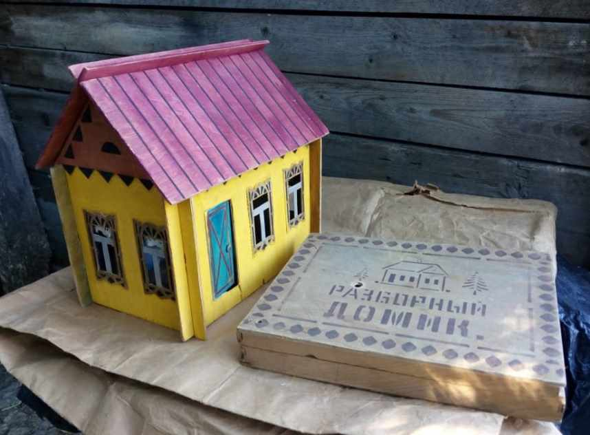 разборный кукольный домик