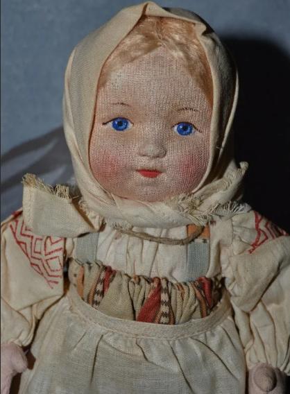 старинная артельная кукла