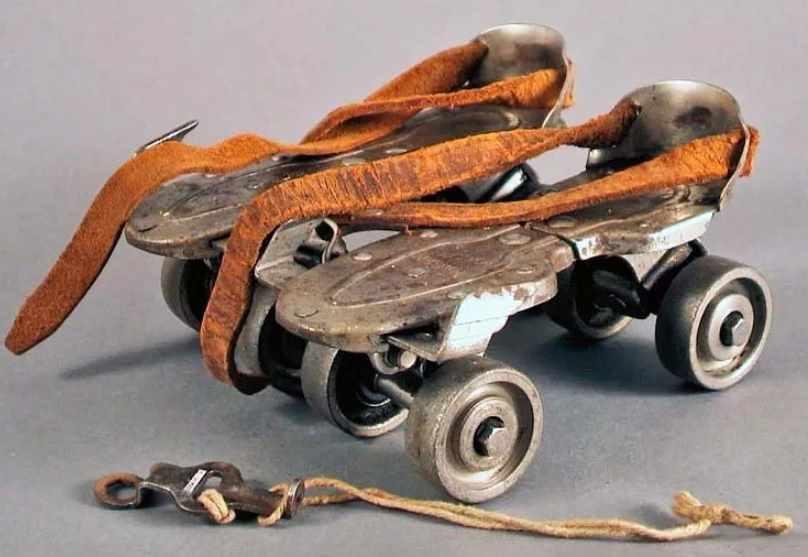 советские роликовые коньки