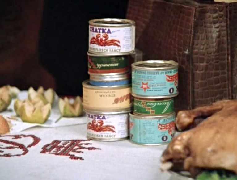 советские консервы из крабов