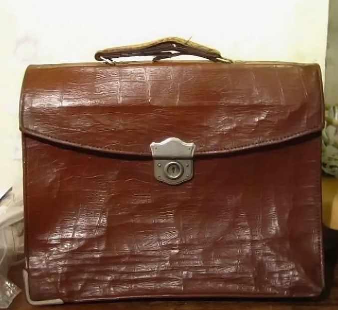 старый советский портфель