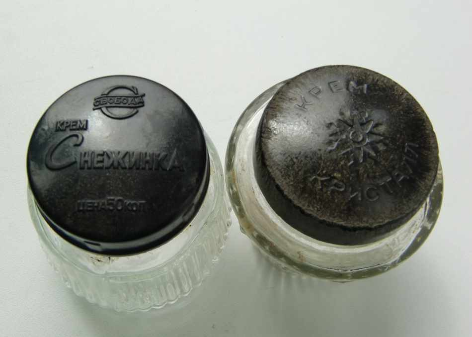 баночка от советского крема Кристалл