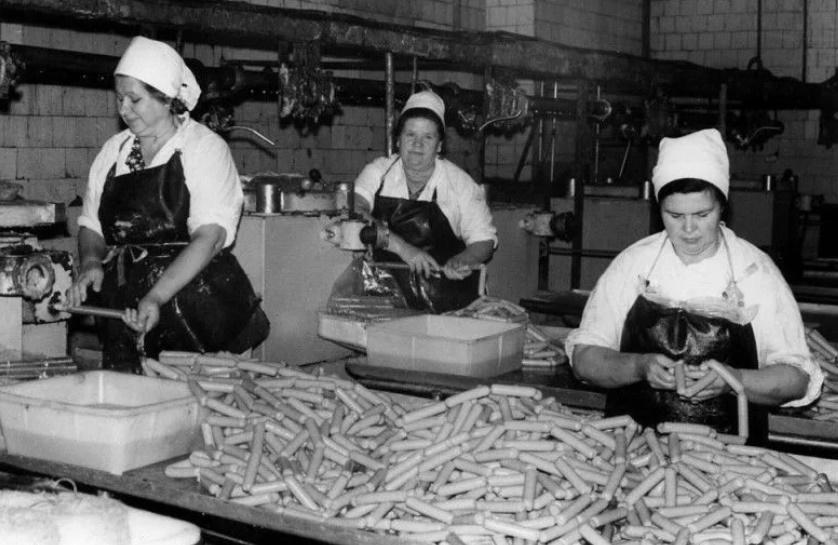 советский мясокомбинат производство сосисок